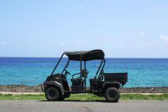 San Andres: Aluguel de carrinhos de golfe com 5 lugares