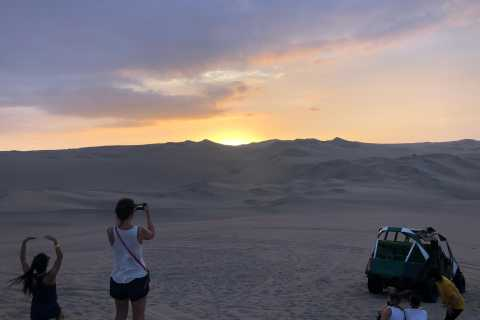 From Ica or Huacachina: Dune Buggy at Sunset & Sandboarding