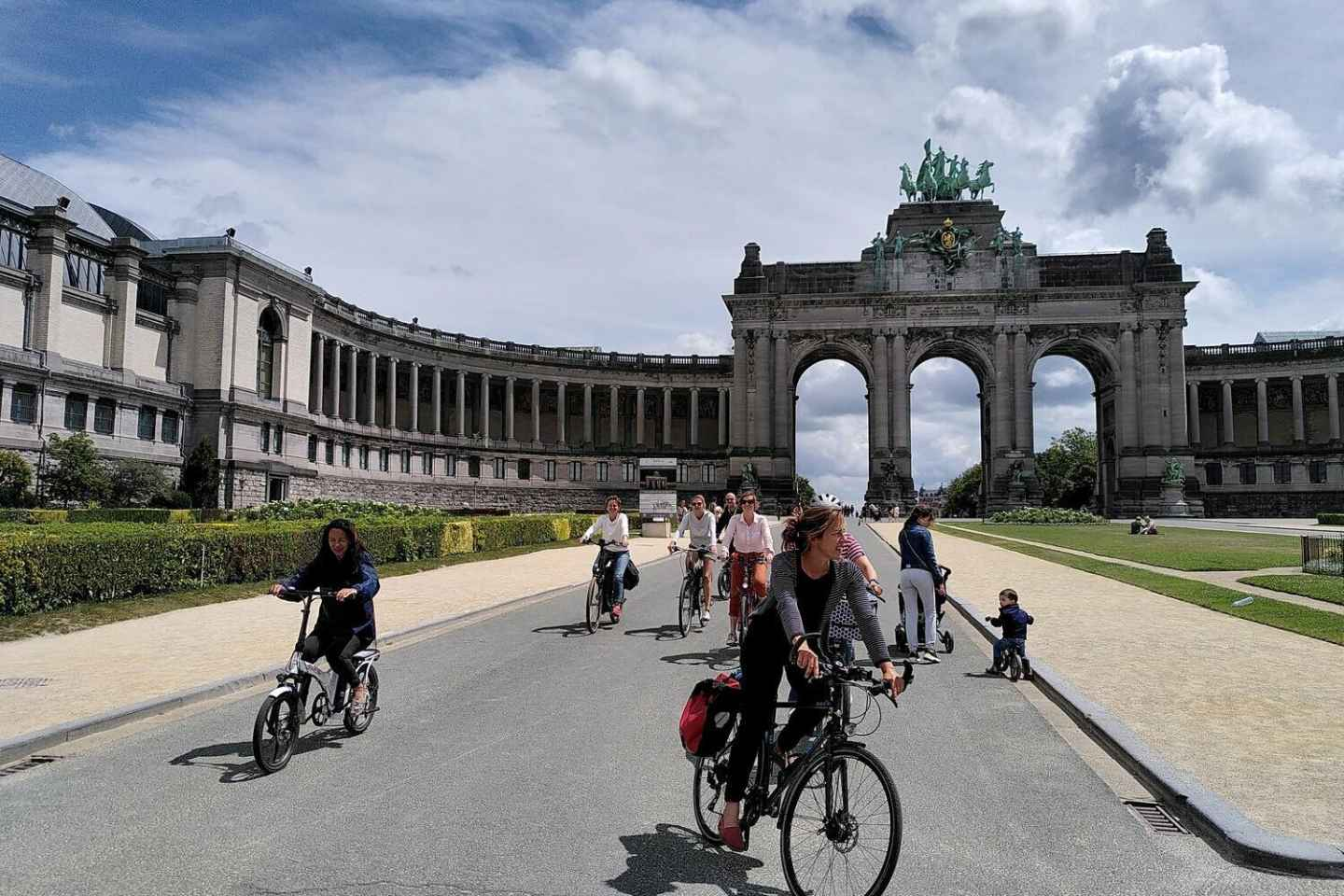 Brüssel: Highlights und Hidden Gems Guided Bike Tour