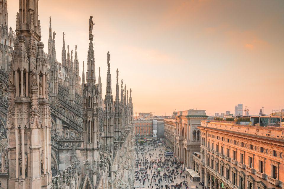 Bilet wstępu do katedry w Mediolanie i na dach