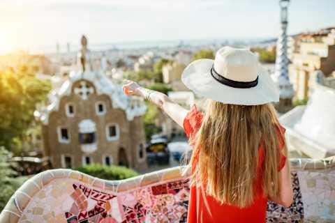 Barcelone: visite privée de la Sagrada Familia et billets pour le parc Guell