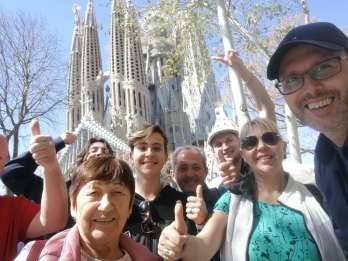 Barcelona & Sagrada Familia: Halbtagestour mit Hotelabholung