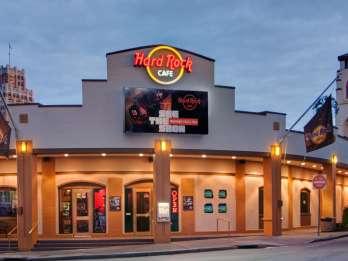 Hard Rock Cafe Mahlzeit: Niagara Falls, USA