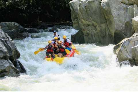 Medellin: Calderas River Whitewater Rafting Experience