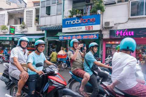 Ho Chi Minh: Motorbike Combo City and Hidden Gems Tour