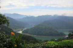 Thousand Island Lake e Plantação de Chá Pinglin de Taipei
