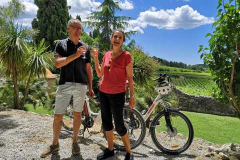 Penedès: Self-Guided Bike Tour with Winery Visit