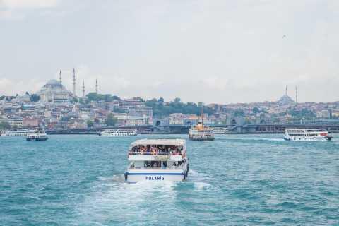 Istanbul: Tour of the Bosphorus around Bebek with Cruise