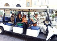 Rom: Erkundungstour im Golfcart