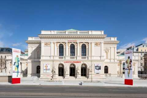 Wenen: Albertina Modern bij toegangsticket Künstlerhaus