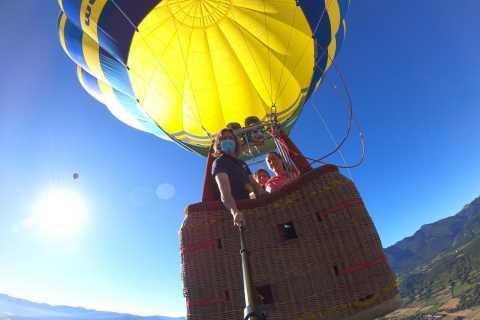 Volo privato in mongolfiera a Barcellona