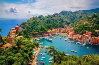 Ab Mailand: Tagestour nach Genua und Portofino