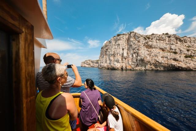 Vanuit Zadar: dagtocht per boot door nationaal park Kornaten