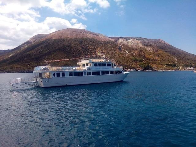 Vanuit Milazzo, Sicilië: boottocht eilanden Vulcano & Lipari