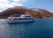Ab Milazzo, Sizilien: Vulkan und Liparische Inseln