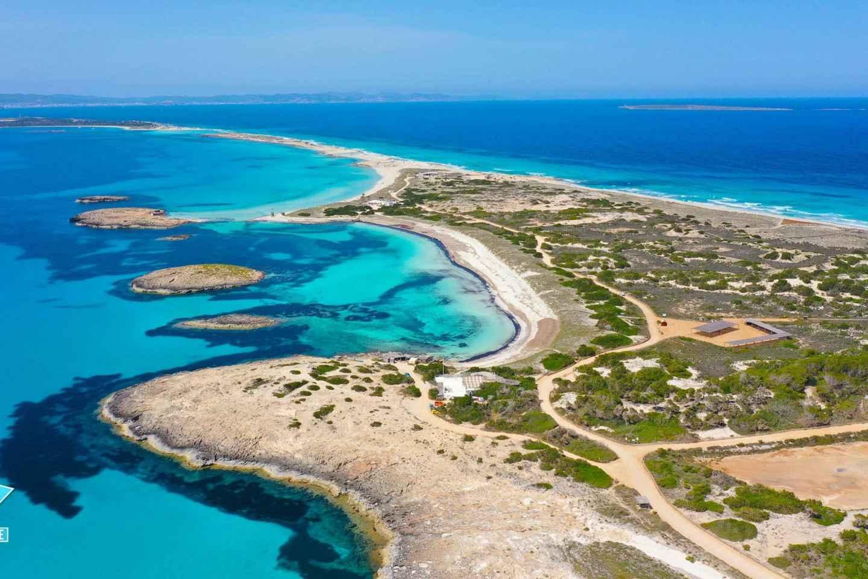 Ibiza: Ganztägige Formentera-Strandkreuzfahrt mit Stopp Es Vedra