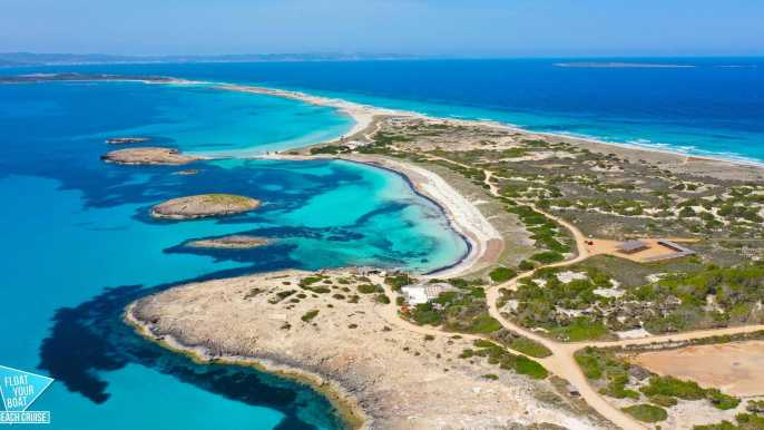 Ibiza: Full-Day Formentera Beach Cruise With Es Vedra Stop