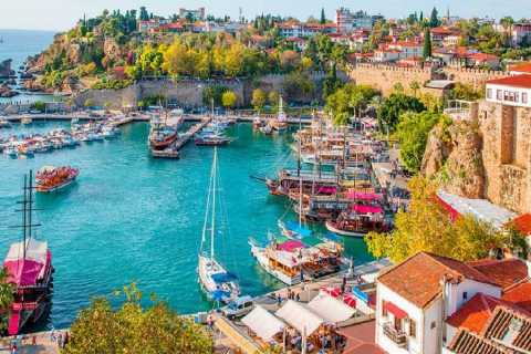 From Side: Excursion to Antalya City