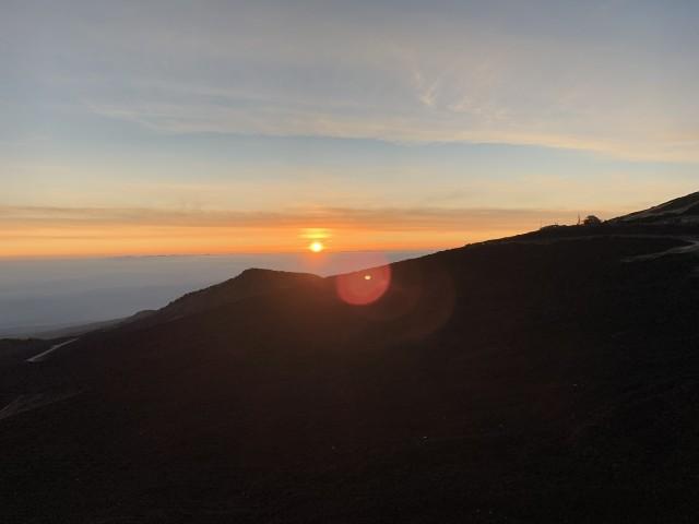 Catania: tour per Jeep naar vulkaan Etna bij zonsondergang