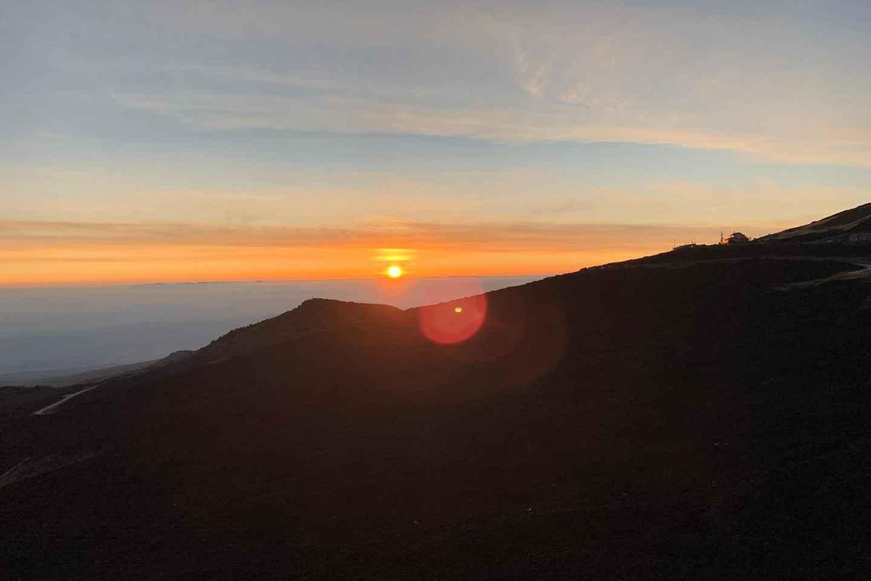 Ab Catania: Jeep-Tour zum Ätna bei Sonnenuntergang