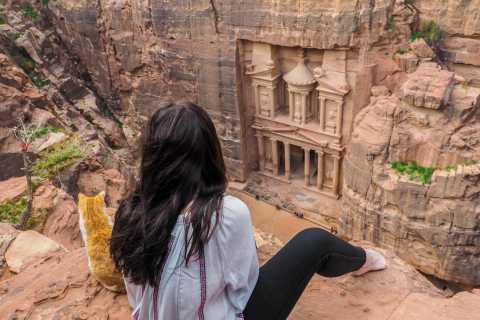 From Allenby Bridge: 3-Days Trip to Jerash, Petra & Wadi Rum