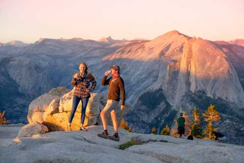 From El Portal: Yosemite Sunset Hike at Sentinel Dome