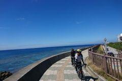 Okinawa: passeio de bicicleta para Chatan
