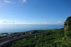 Okinawa: passeio de dia inteiro de bicicleta pelo circuito sul