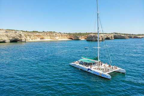Portimão: Half-Day Catamaran Cruise to Benagil & Carvoeiro