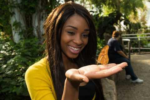 Cataratas del Niágara, Canadá: entrada al invernadero de mariposas