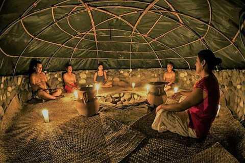 Desde Riviera Maya: Ceremonia Privada de Temazcal y Cenote