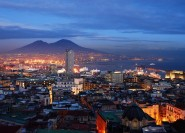 Neapel: Luxus-Nachttour mit romantischem Abendessen