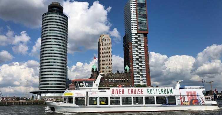 Roterdã: cruzeiro fluvial de 1 hora