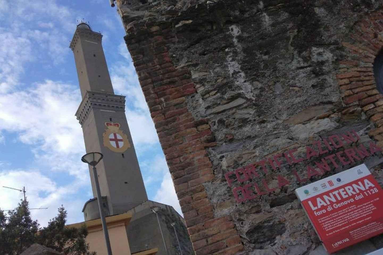 Genua: Eintrittskarte für den Leuchtturm
