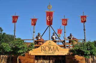 Roma World: Eingang zum alten Rom-Themenpark