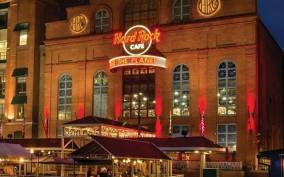 Meal at the Hard Rock Café Baltimore
