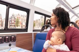Amsterdam: Grachtenfahrt am Tag