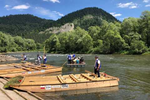 From Kraków: Dunajec River Rafting with Hotel Pickup