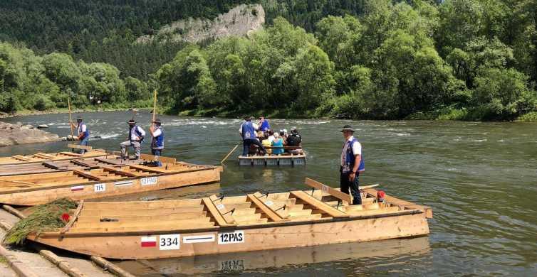 De Cracóvia: Rafting no Rio Dunajec com embarque no hotel