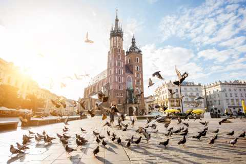 Cracow: Private Walking Tour Along The Royal Route