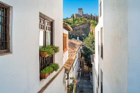 Granada: Alhambra Full Complex & Andalusi Monuments Tickets