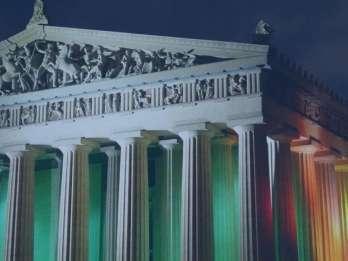 Nashville: 2-stündige Trolley Sightseeing Tour bei Nacht