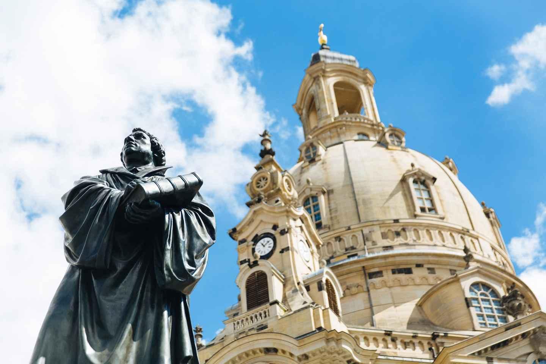 Dresden: 30-minütige Präsentation in der Frauenkirche