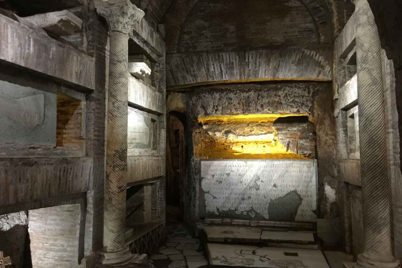 Rom: Führung durch die Katakomben von St. Callixtus