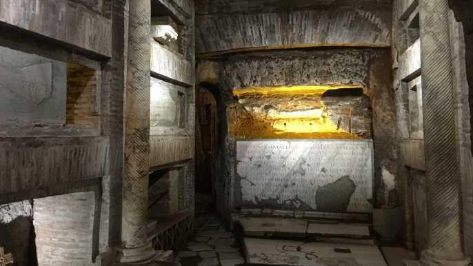 Roma: visita guiada oficial a las catacumbas de San Calixto
