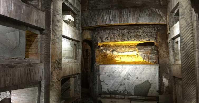 Rome: rondleiding door de catacomben van St. Callixtus
