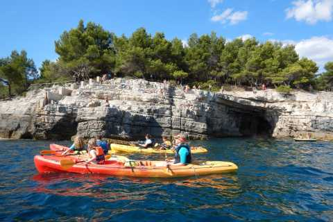 Pula: 3-Hour Cliffs and Caves Kayaking Tour