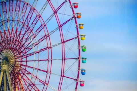 Tokyo: Palette Town's Giant Sky Wheel Skip-the-Line Ticket
