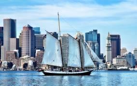 Afternoon Sail Around Boston Harbor