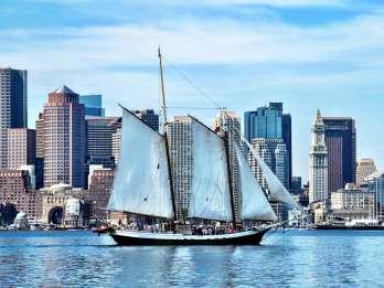 Nachmittags-Segeltörn durch den Bostoner Hafen